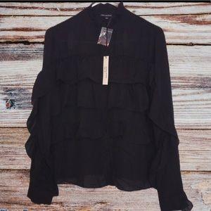 ⤵️🆕 Shinestar black blouse XL
